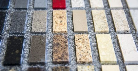 multiple stone counter sample colours