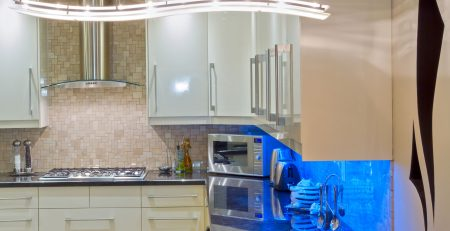 modern stone kitchen worktop and feng shui