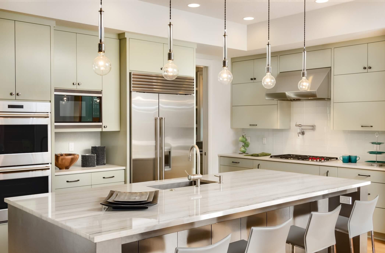 quartz dekton kitchen