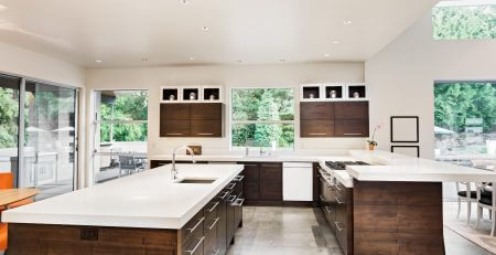 spacious kitchen extension