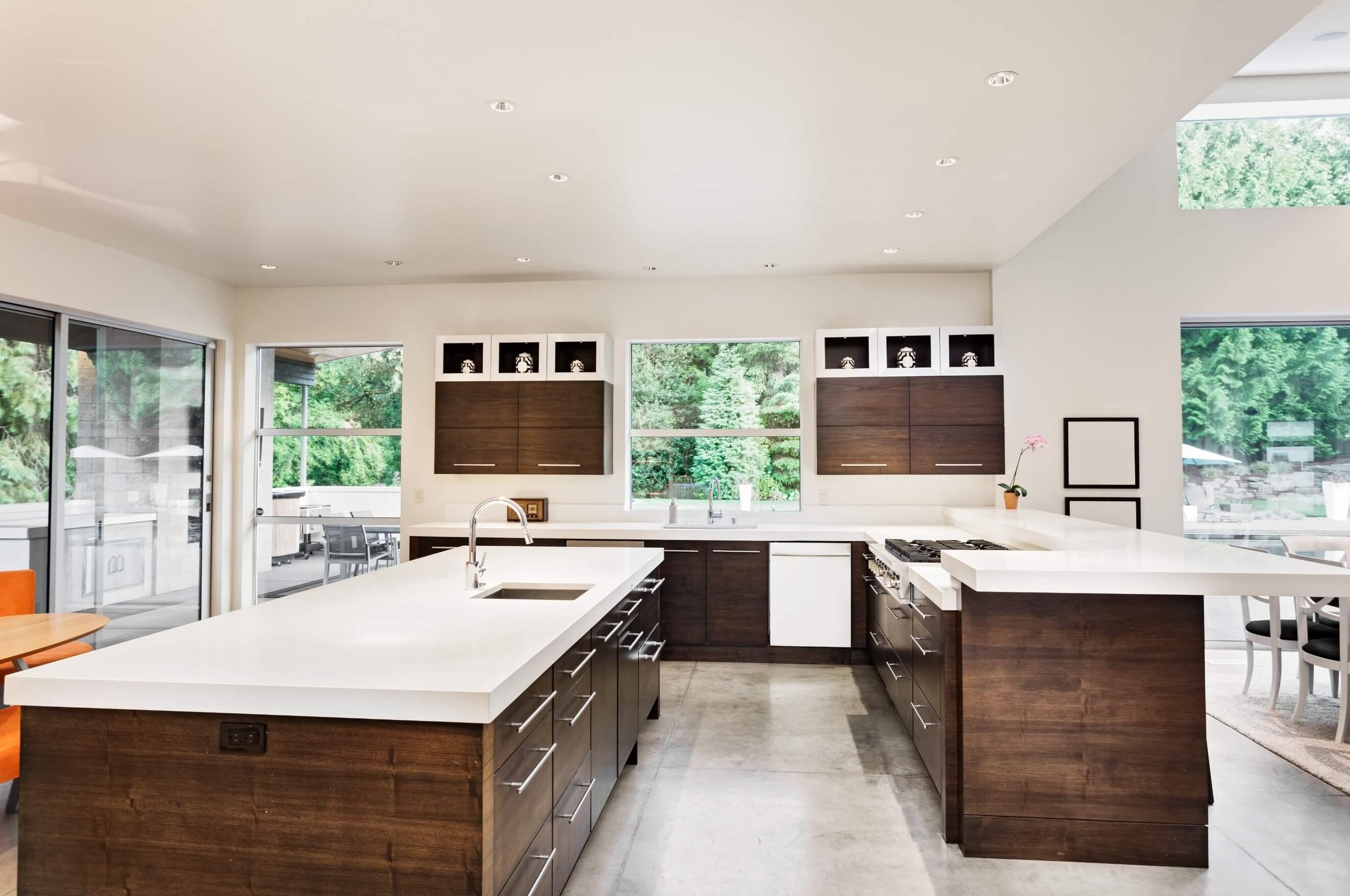 spacious kitchen extension
