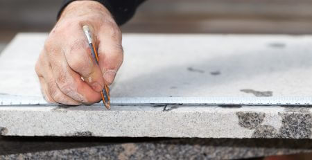 measuring-marble-surface