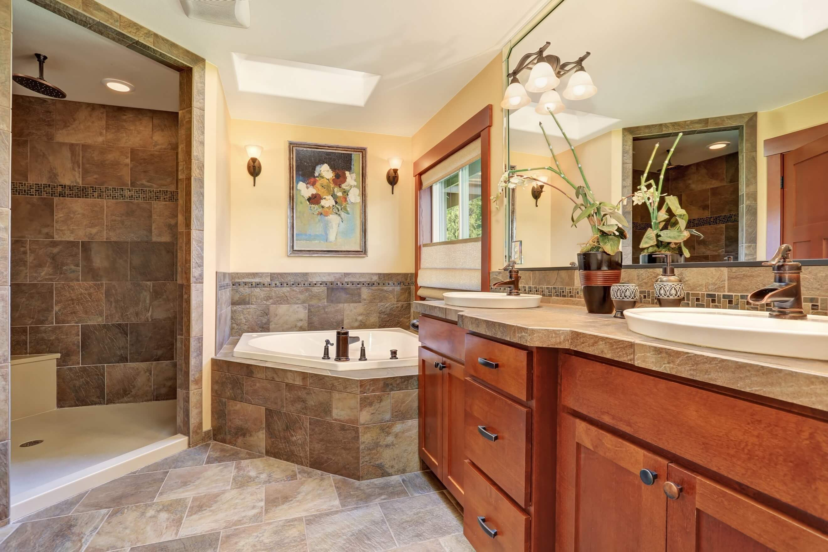 Luxury Stone Bathroom