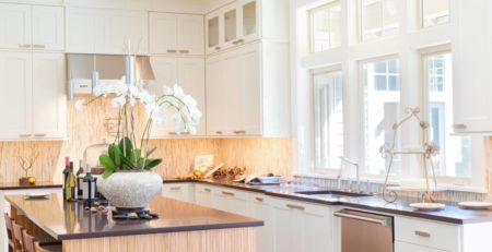 bright, airy kitchen